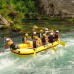 Enjoy rafting as option